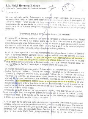 """""""NO ENCUENTRAN"""" A LOS ASESINOS DEL DIRECTOR (+) DE """"LA OPINIÓN"""""""