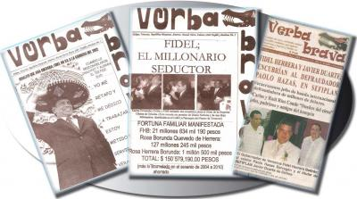 Desvían 529 mil pesos del erario de Veracruz para piratear la revista Verba Brava!
