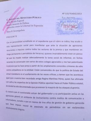 Veracruz, las huellas de la impunidad