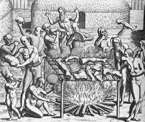 canibales de Brasil por el blog ausente.